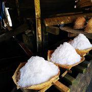 日本由来の製塩製法らしいです