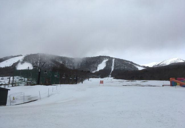 場 スキー 白石 蔵王