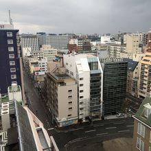 最上階からの眺望
