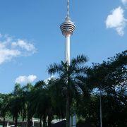 ペトロナスツインタワーと双璧をなすタワー