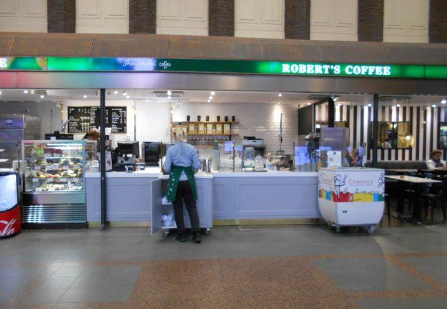 ロバーツコーヒー (ヘルシンキ中央駅店)