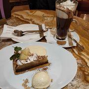 アップルパイとホットチョコレート☆