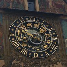 時計の盤面も可愛かったです