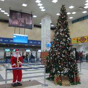 こじんまりした空港。