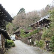 日本各地から移築されました