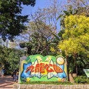 九龍にある大きな公園