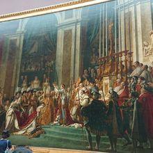 ナポレオン1世の戴冠式と皇妃ジョセフィーヌの戴冠
