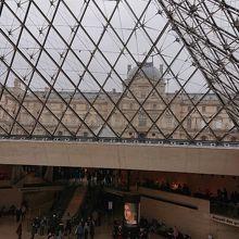 ピラミッドの内部
