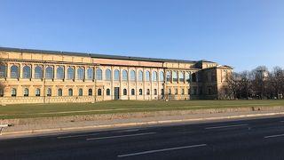 ミュンヘンの有名な美術館