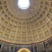 コンクリート基礎のローマ遺跡