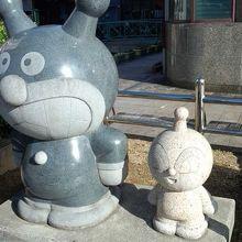 本石像の一例です。