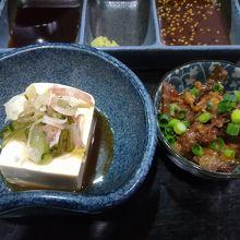 箸休めの豆腐