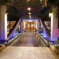 南国感溢れるリゾートホテル