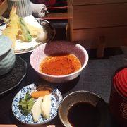 ホテルの和食店で贅沢ランチ