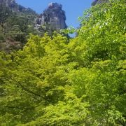 昇仙峡1の奇岩
