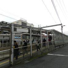 乗り継ぎ駅の「太秦天神川駅」