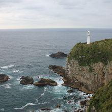足摺岬に立つ白亜の灯台