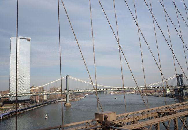 マンハッタンとブルックリンを結ぶ橋
