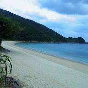 奄美南部のヤドリ浜