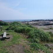 海の景色が素晴らしい