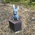 写真:出雲大社 大国主大神と兎の像