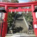 写真:愛宕神社参道