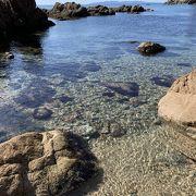 日本海の岩!