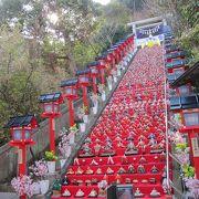 ひな祭りの階段。