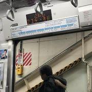 浜松町駅から上野駅まで