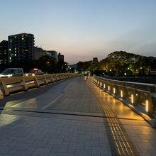元安川にかかる橋