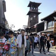 中国人観光客が居なくなった時の鐘の周辺