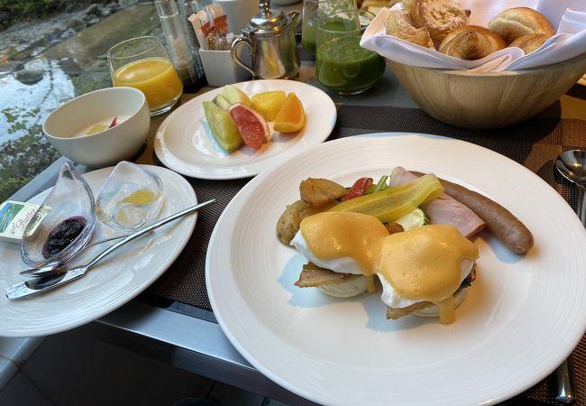 とても素晴らしかった朝食