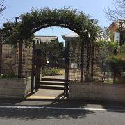 閑静な池田山にある癒しの庭