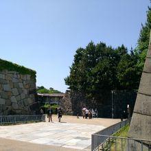 名古屋城 本丸表一之門跡