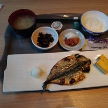 朝の和食コース
