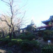 寛永寺清水観音堂の隣