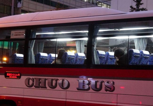 高速バス(北海道中央バス)