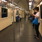 バンコクシャットダウン3日目 駅、車両内の様子