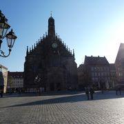 ニュルンベルグの3つの教会の1つ。