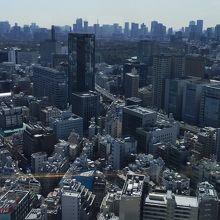 43階から見る東京