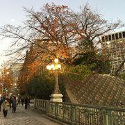 冬の見附橋