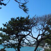 海辺の美しい公園