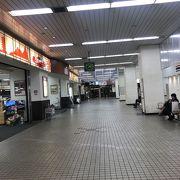 新山口駅の新幹線改札側にあります