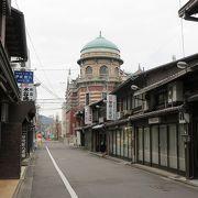 シルクロードを表現したような建物~京都は凄いですねぇ