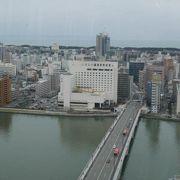 新潟市のシンボル的な