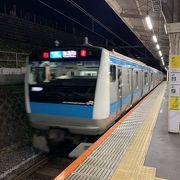 ブルーの京浜東北線