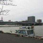 信濃川に架かる橋