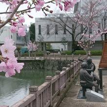 弥次喜多像 (駿府城公園)