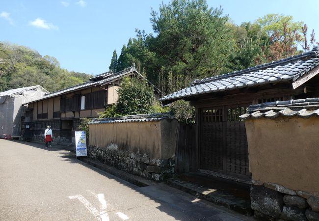 殿町の武家屋敷