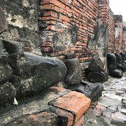 ビルマ軍に破壊された跡